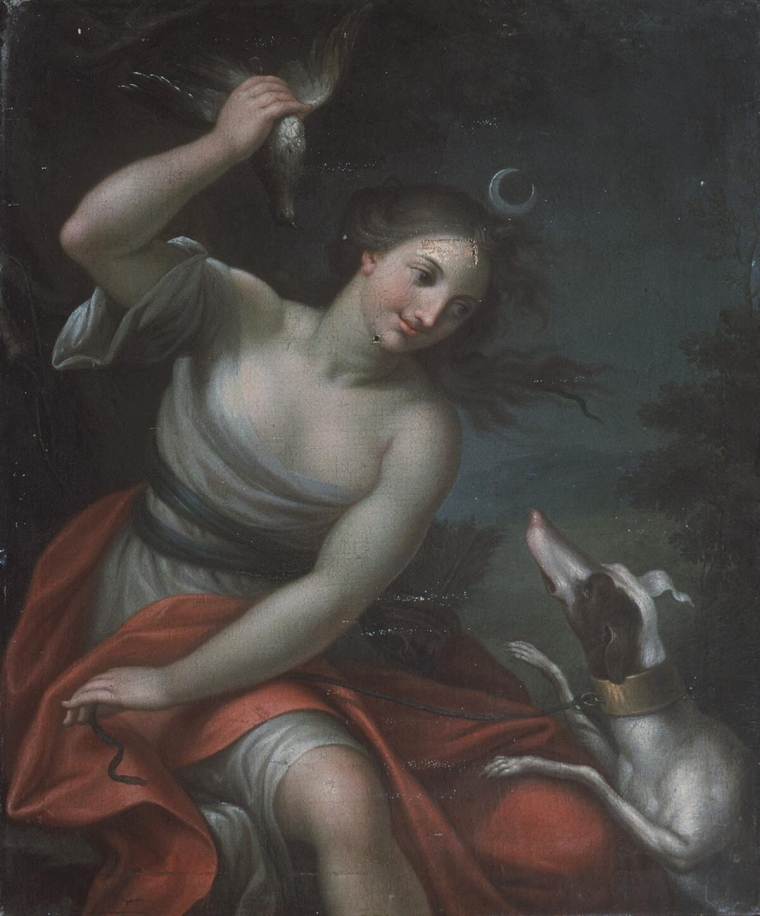 Diana_and_her_hound 1720 unknownjpg