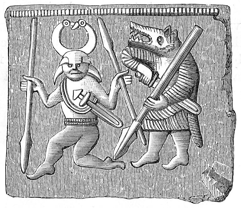 Odin mit Berseker