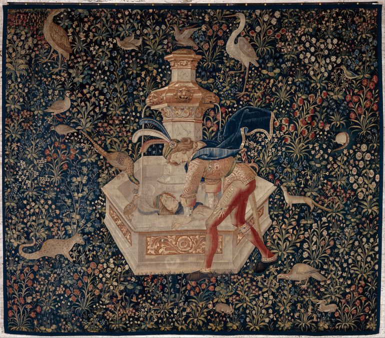 Tapestry-_Narcissus_-_Google_Art_Project
