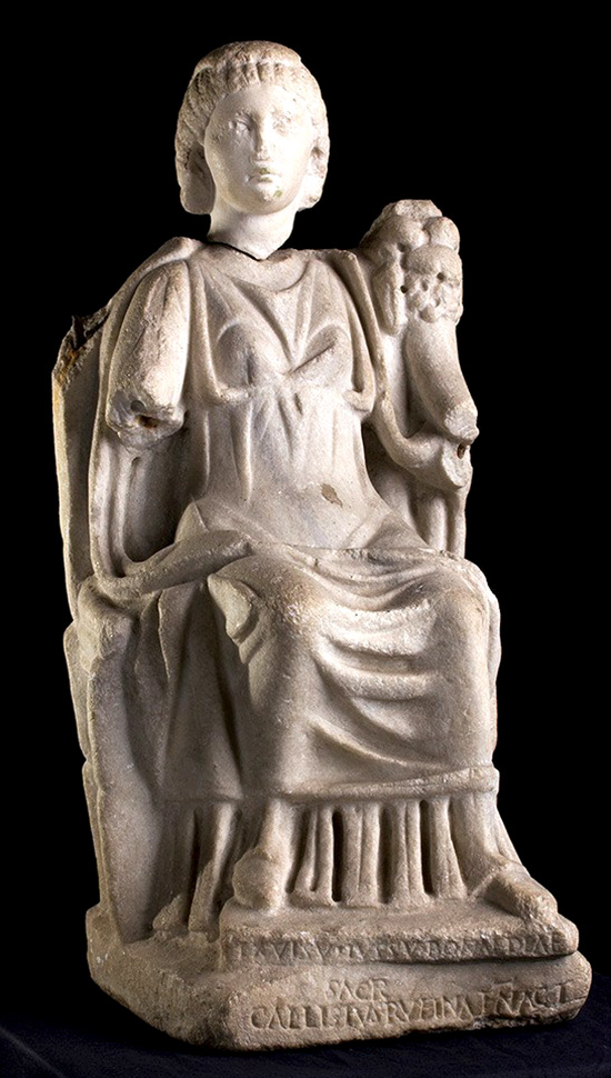 Bona_Dea_Marble_Statue_with_Epigraph