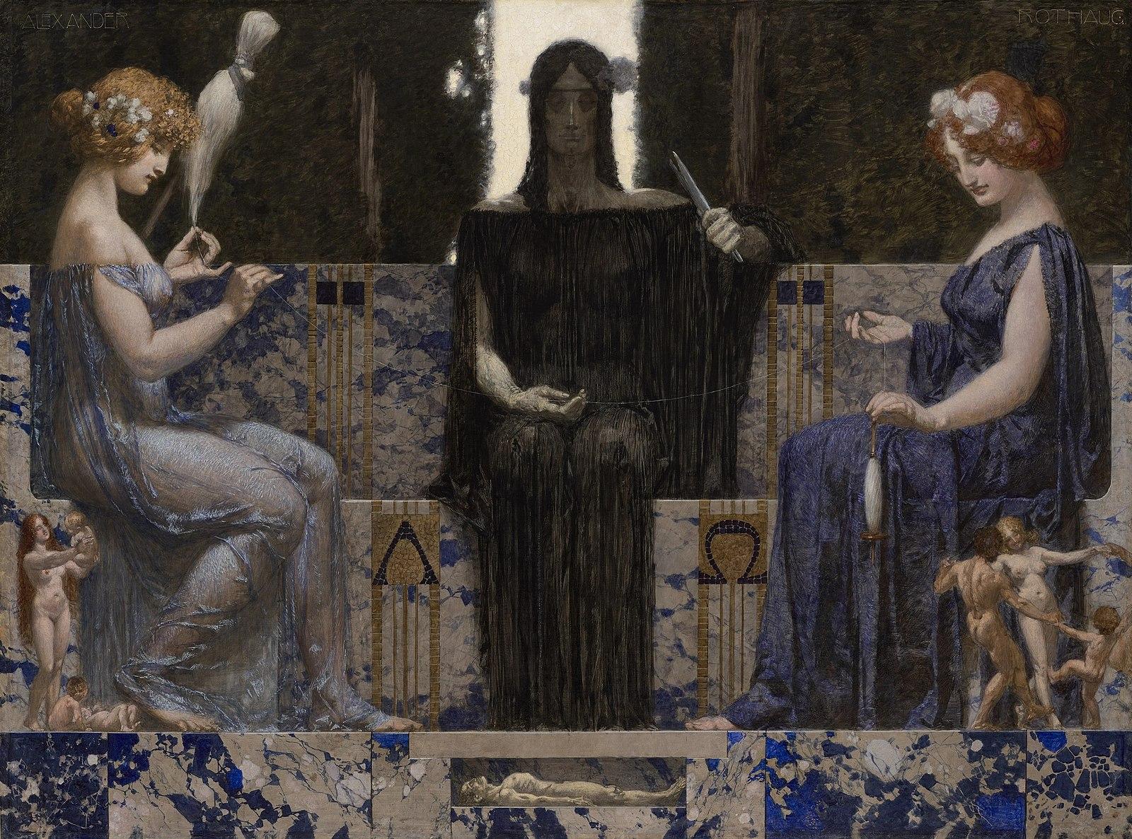 1600px-Alexander_Rothaug_-_The_Three_Fates,_circa_1910